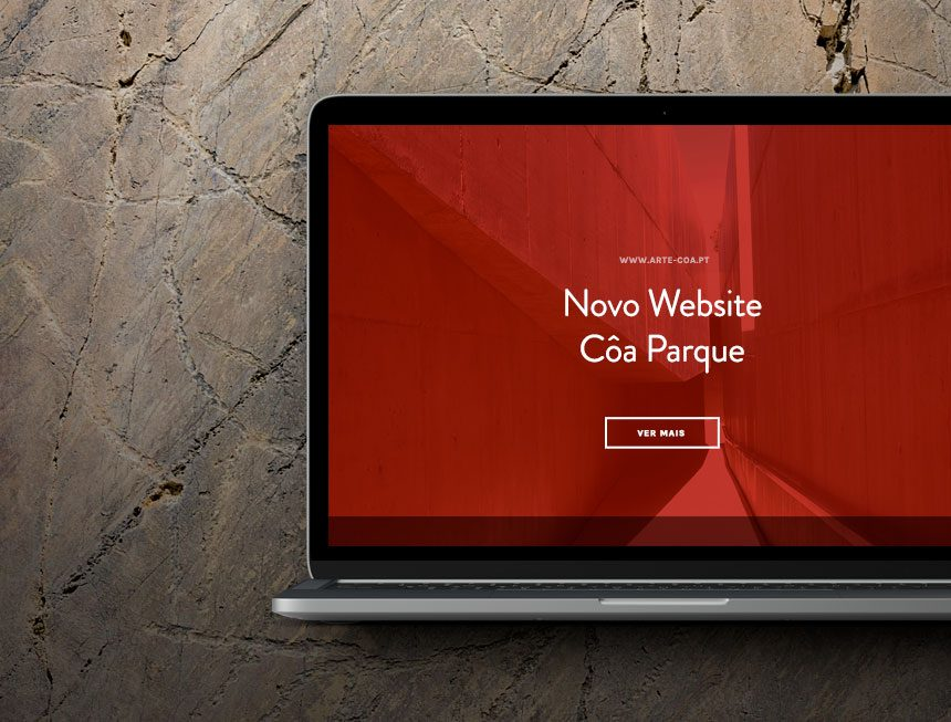 New site of the Côa Parque Foundation