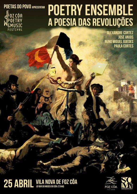 Poetry Ensemble: A Poesia das Revoluções, pelos Poetas do Povo