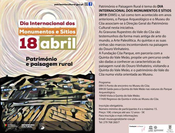 DIA INTERNACIONAL DOS MONUMENTOS E SÍTIOS 2019