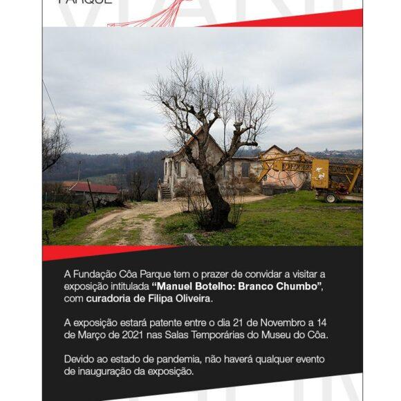 "Exhibition ""Manuel Botelho: Branco Chumbo"""