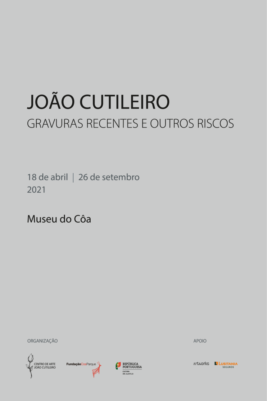 "Exhibition of ""João Cutileiro: Recent engravings and other risks"